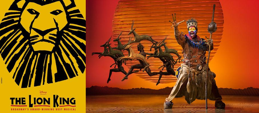 The Lion King at Van Wezel Performing Arts Hall