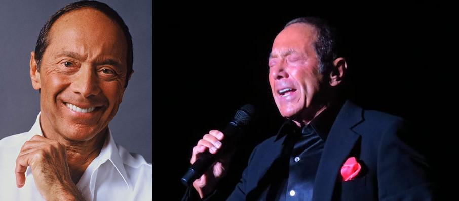 Paul Anka at Van Wezel Performing Arts Hall