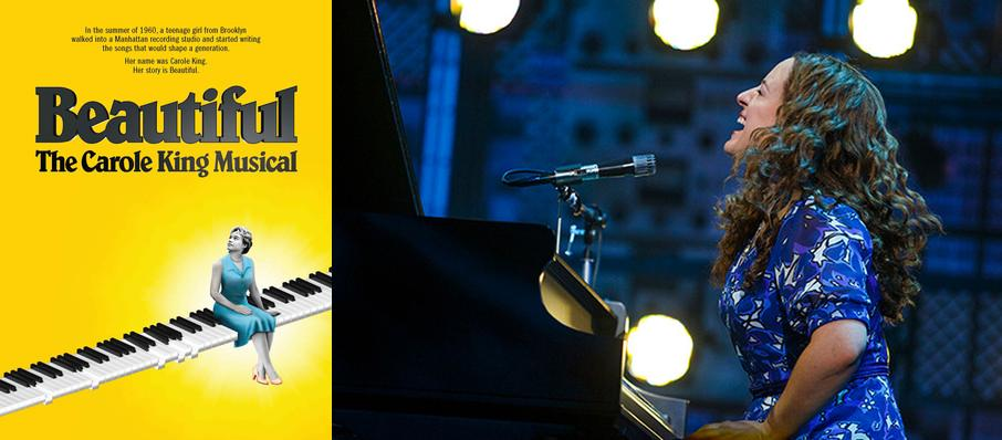 Beautiful: The Carole King Musical at Van Wezel Performing Arts Hall
