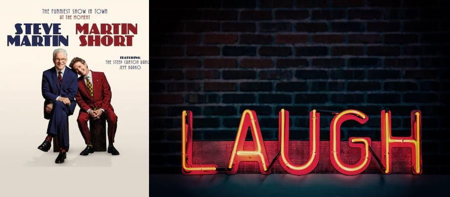 Steve Martin & Martin Short at Van Wezel Performing Arts Hall