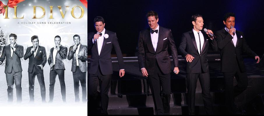 Il Divo at Van Wezel Performing Arts Hall