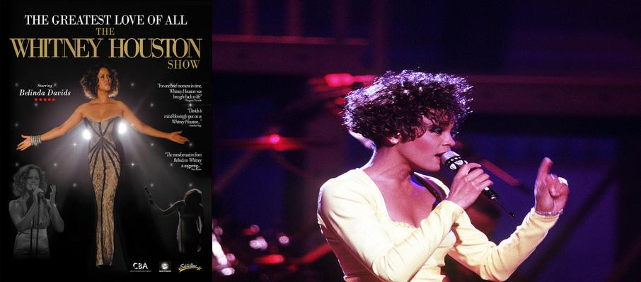 The Greatest Love of All - Whitney Houston Tribute at Van Wezel Performing Arts Hall