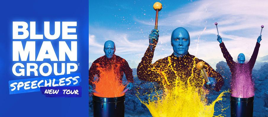 Blue Man Group at Van Wezel Performing Arts Hall