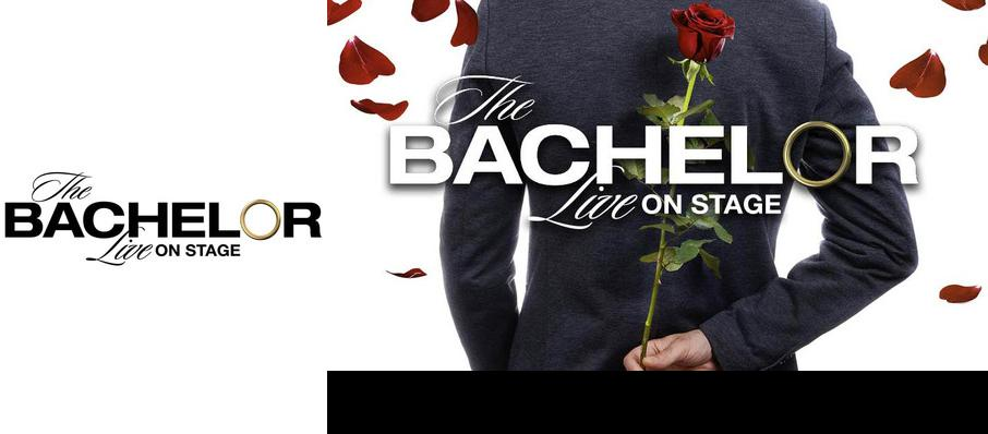 The Bachelor Live On Stage at Van Wezel Performing Arts Hall