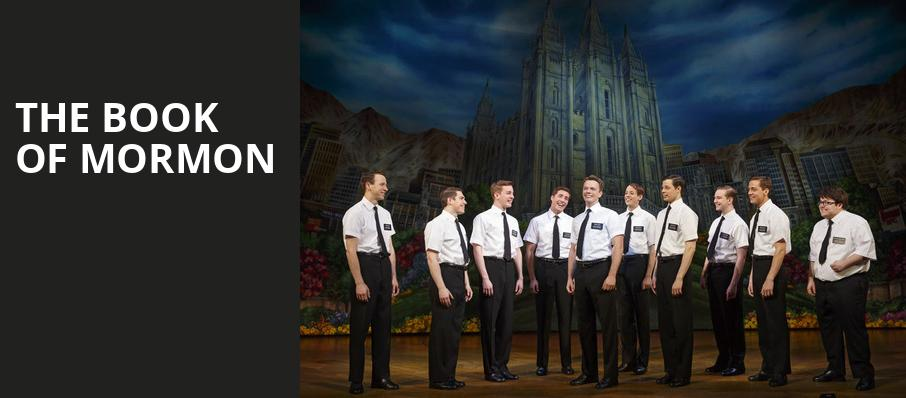 The Book of Mormon, Van Wezel Performing Arts Hall, Sarasota