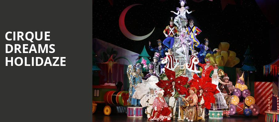 Cirque Dreams Holidaze, Van Wezel Performing Arts Hall, Sarasota