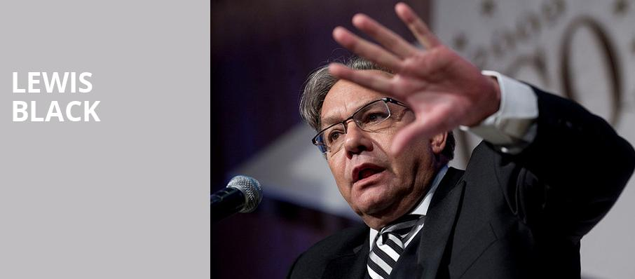 Lewis Black, Van Wezel Performing Arts Hall, Sarasota