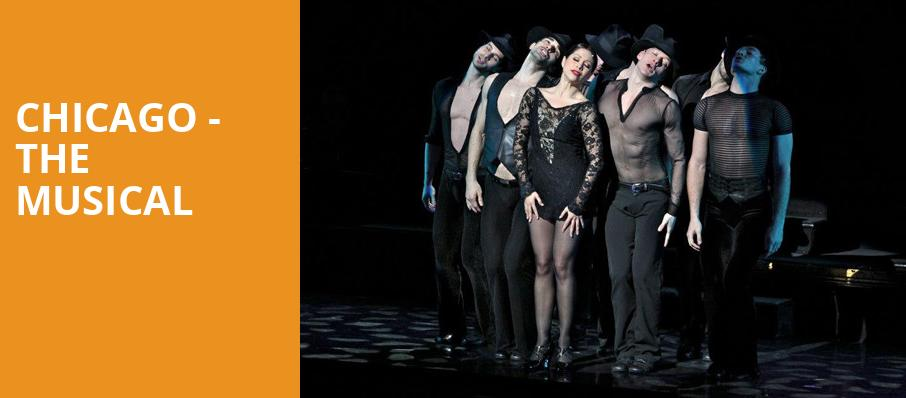 Chicago The Musical, Van Wezel Performing Arts Hall, Sarasota