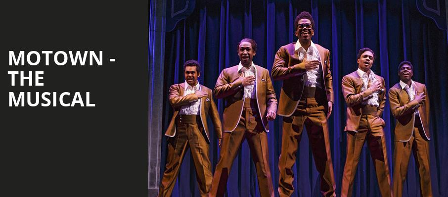 Motown The Musical, Van Wezel Performing Arts Hall, Sarasota